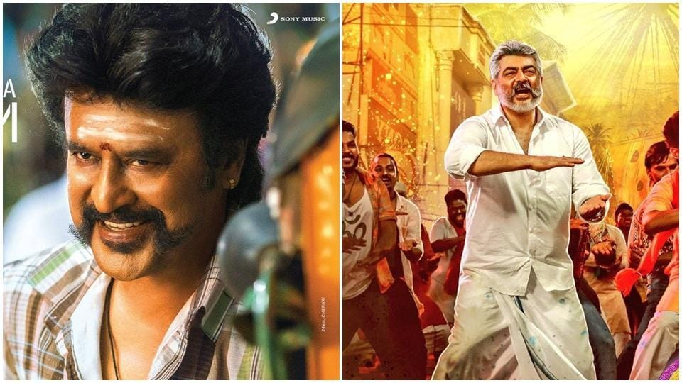Rajinikanth's Petta is ahead of Viswasam in worldwide box office collections.