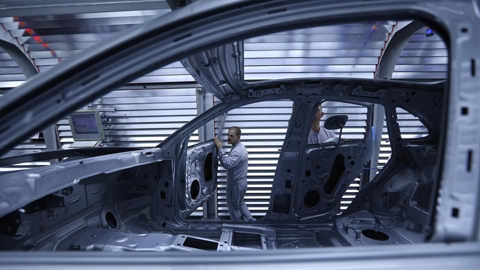 Macan SUV production as Porsche AG plans for $6.8 billion profit by 2025.