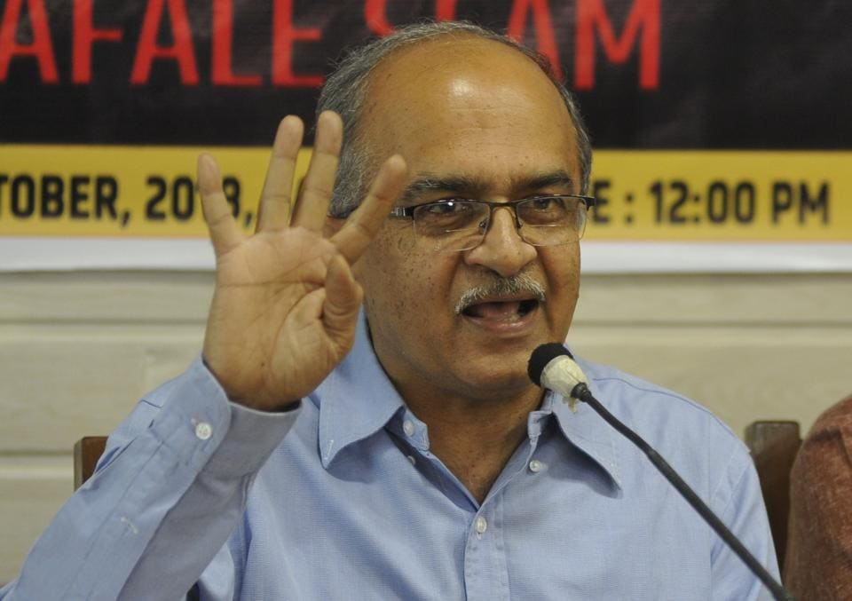 Prashant Bhushan contends that Nageswar Rao's appointment as CBI interim Director was not according to norms.