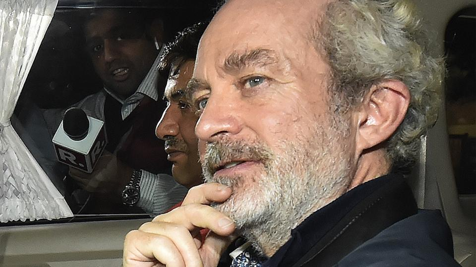 Christian Michel,VVIP chopper case,AgustaWestland