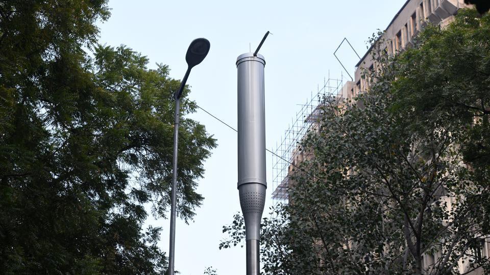 NDMC,smart poles,panic buttons