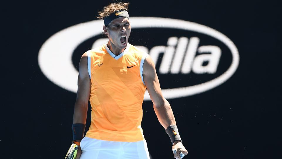 Australian Open,Rafael Nadal',Roger Federer