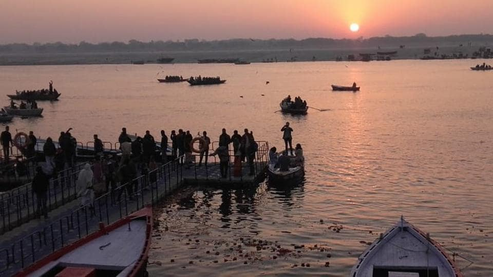 The stage is set for the commencement of the much-publicised 49-day Kumbh Mela with its first official bathing of Makar Sankranti on Tuesday to be undertaken by about 1.25 crore devotees.