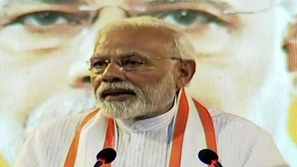 Prime Minister Narendra Modi said that Communists do not respect India's culture.