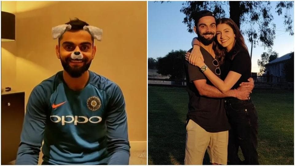 Anushka Sharma is laughing at Virat Kohli's face and he has no clue why.