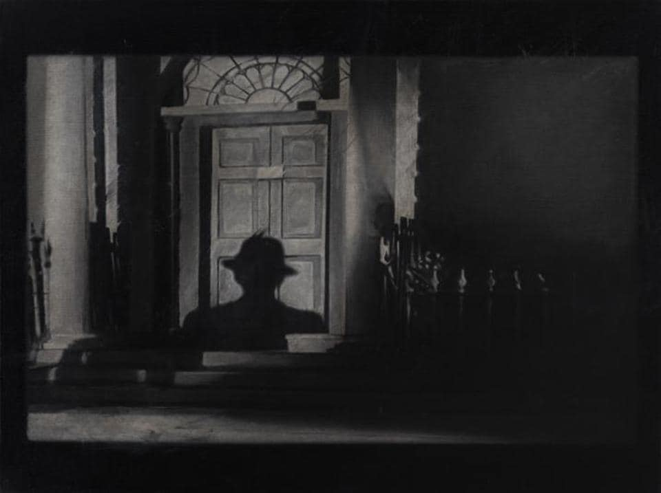 Atul Dodiya retells 7 minutes of a Hitchcock thriller, in new art show