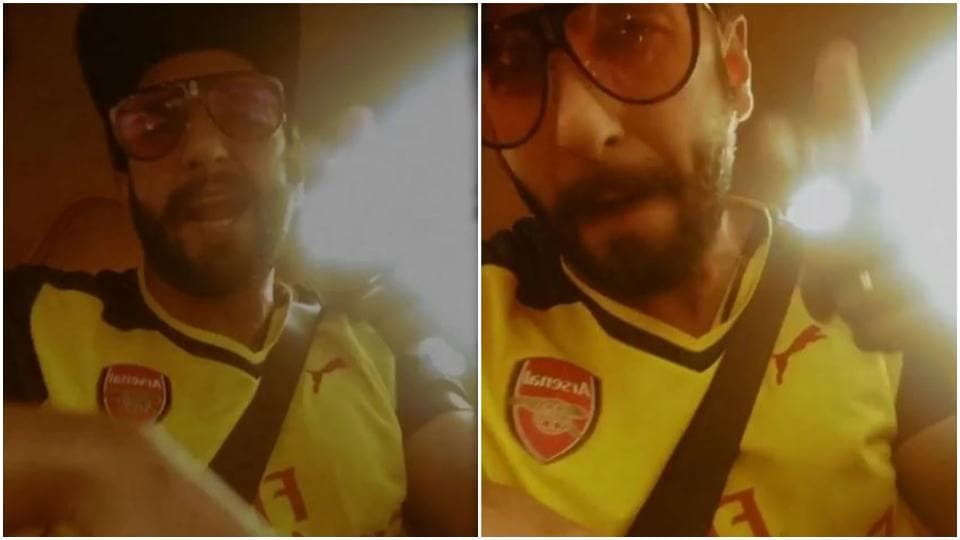 Gully Boy Ranveer Singh proves his talent again, raps Apna Time Aayega perfectly while stuck in traffic