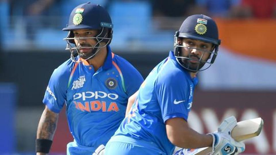 Image result for dhawan and rohit  in odi