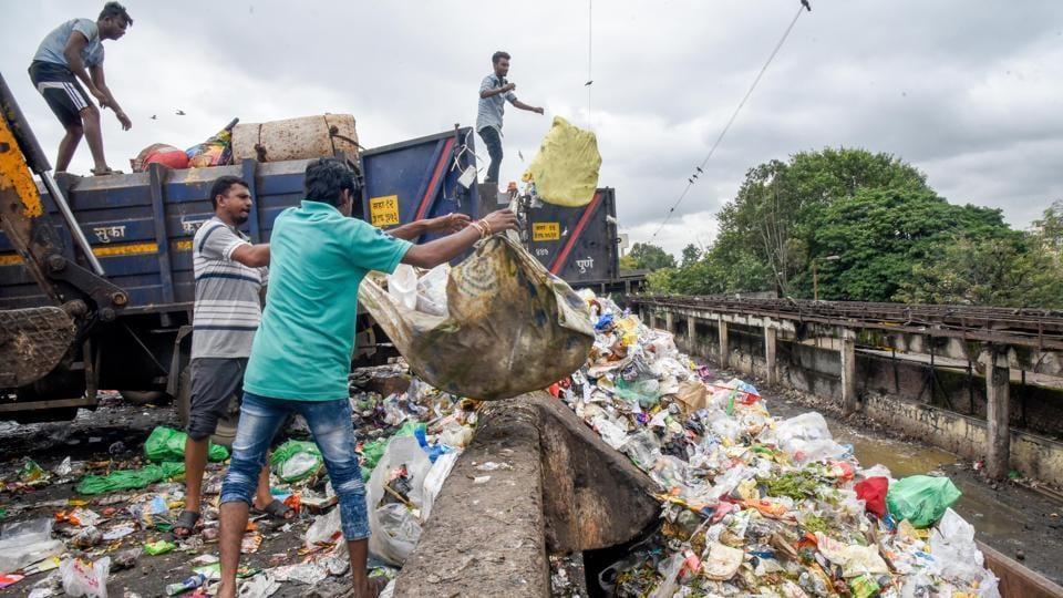 Kothrud garbage depot that will be developed by Maha-metro.