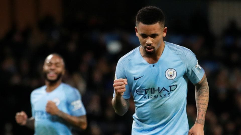 Premier League: Manchester City ease past 10-man Wolves to cut gap at top | football