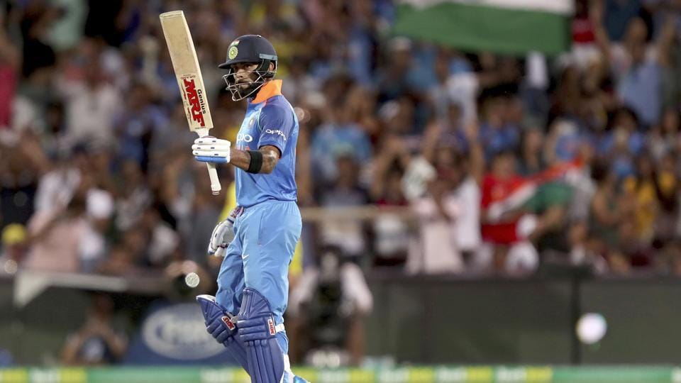 India vs Australia 2nd ODI: Virat Kohli slams 39th ODI ton, moves to third spot in list of most international centuries