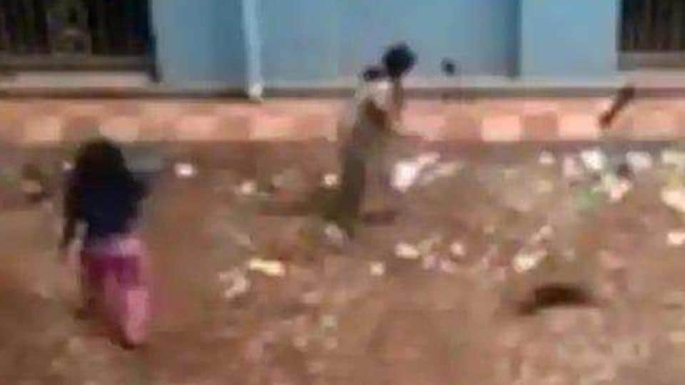 The video of the two nursing students killing the puppies in a hospital complex went viral.