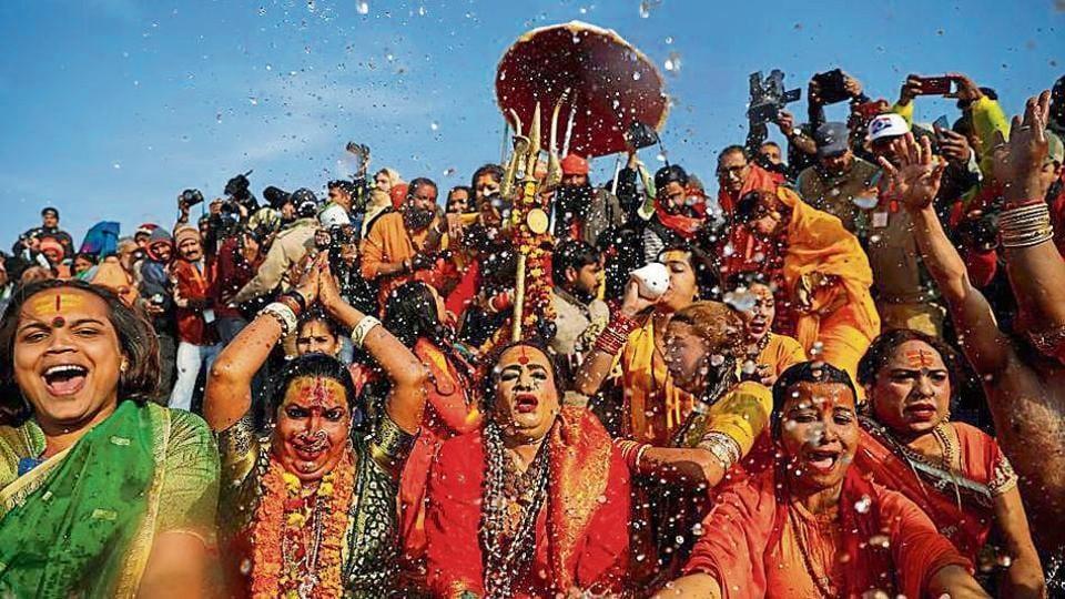 Kinnar Akhada Mahamandaleshwar Acharya Lakshmi Narayan Tripathi