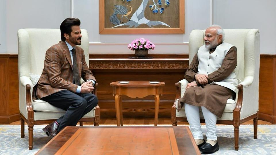 Anil Kapoor is humbled and inspired on meeting PM Modi. See pic
