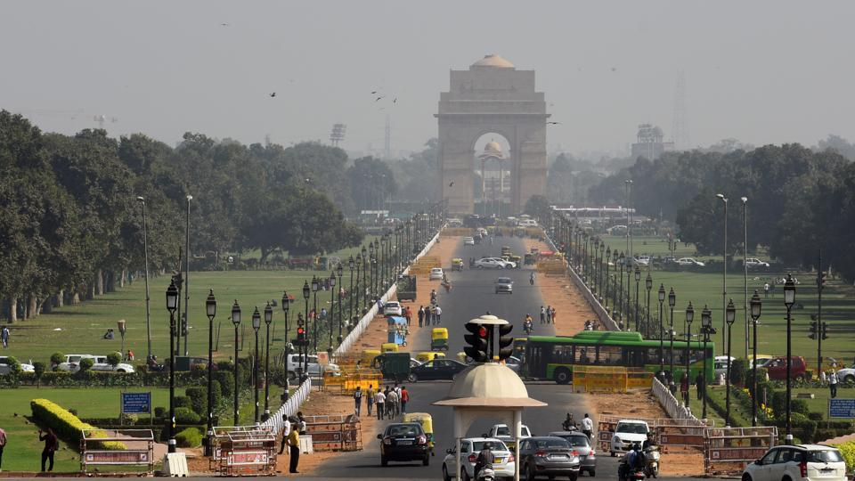 Rajpath is the centre of attraction in Delhi and thousands of people visit the area everyday.