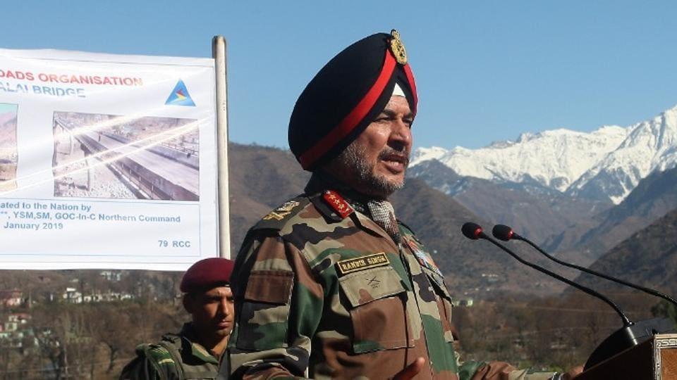 lt general ranbir singh,pakistan ceasefire violation,kalai bridge
