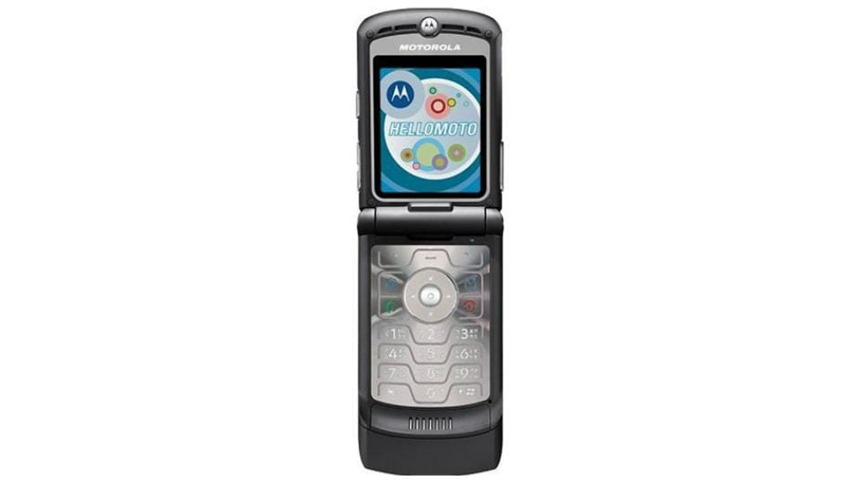Motorola's iconic flip phone 'Razr' set to make comeback with 'foldable' design