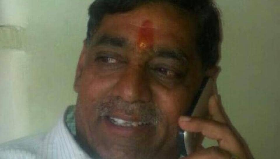 Police said Prahlad Bandhwar was standing outside the district cooperative bank when the assailant, who was riding an Enfield Bullet motorcycle came up and shot him on the head. Bandhwar collapsed and died on the spot.