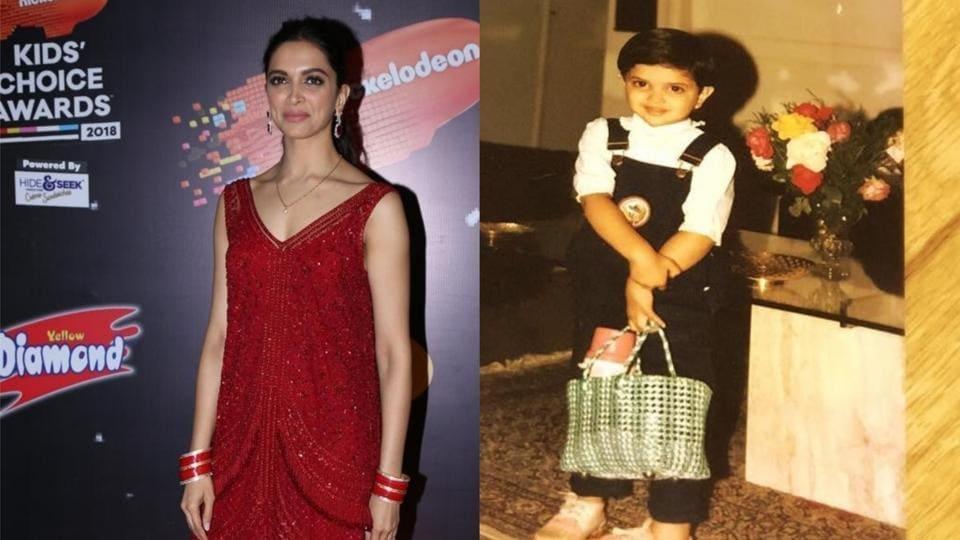 Deepika Padukone shared her childhood picture on Instagram.