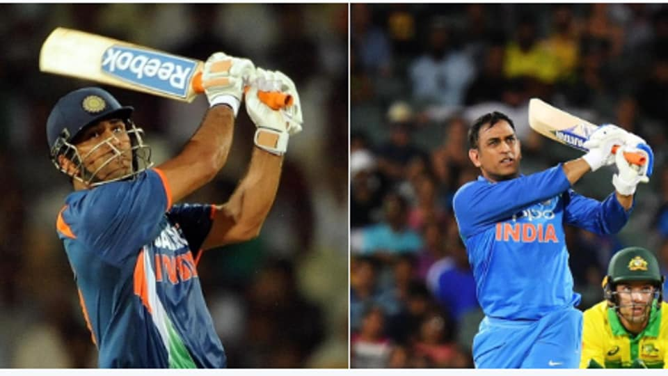 ICC Tweeted the image of MS Dhoni