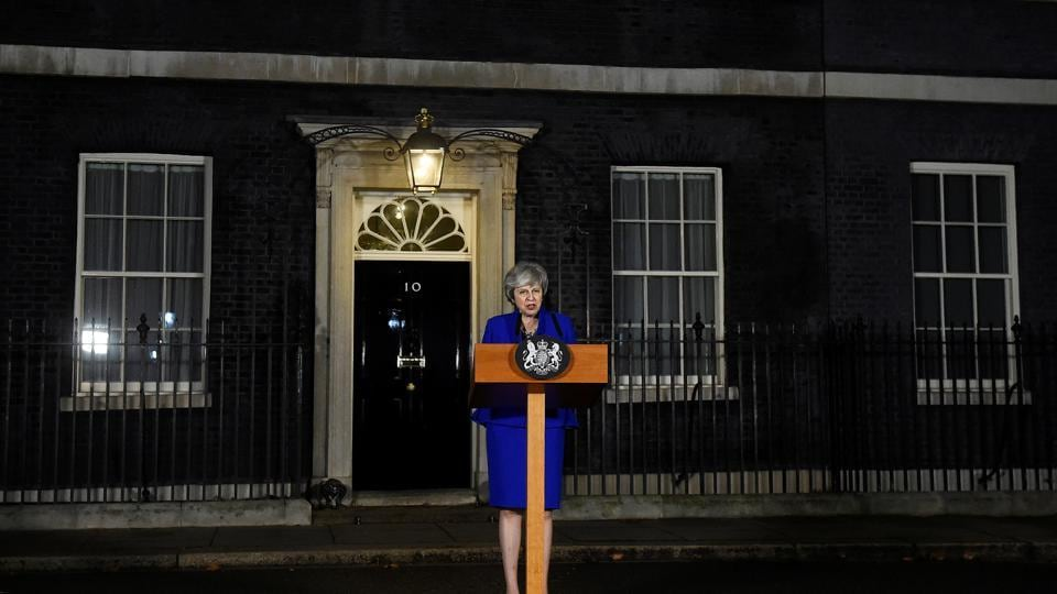Theresa May government survives no-confidence vote after historic Brexit defeat