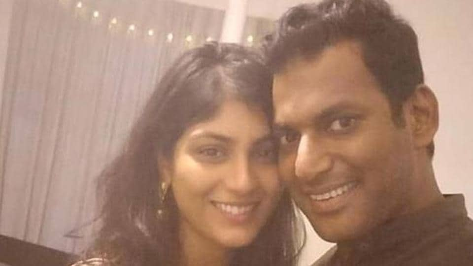 Trolls claim Vishal's fiance Anisha 'bought him with money', she gives a befitting reply