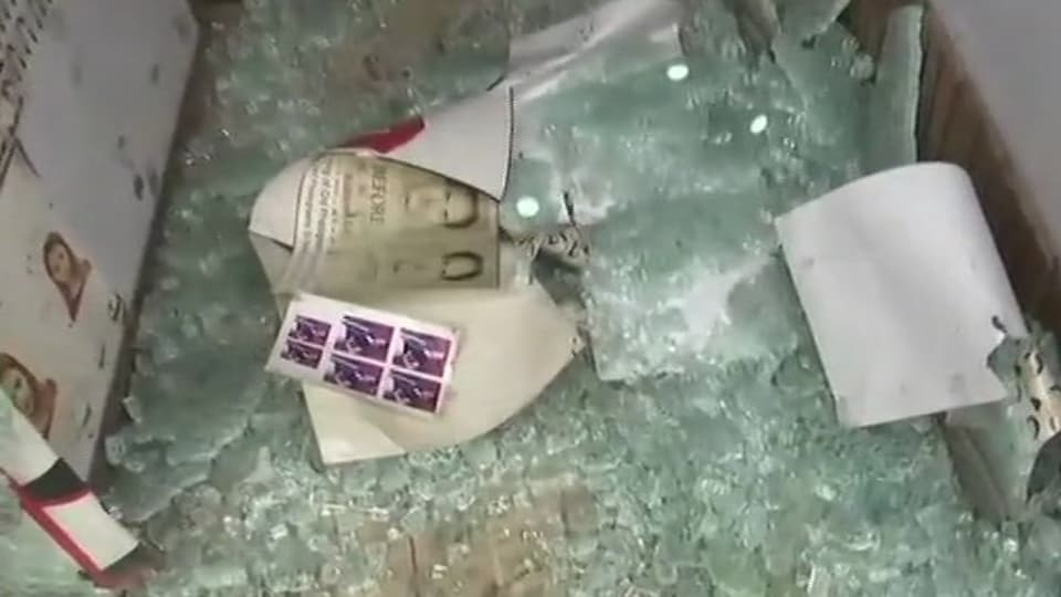 Militants carried out two grenade attacks on security forces in Kashmir, including one in the Lal Chowk area of the city, on Friday but there were no reports of any casualty.