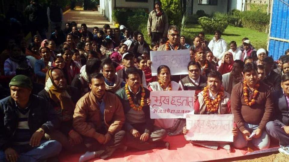 para teacher strike,jharkhand parateachers' strike,teacher strike ends