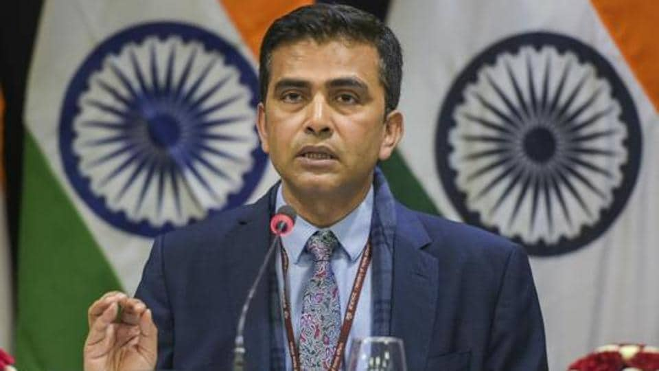 """External affairs ministry spokesperson Raveesh Kumar said Pakistan should """"put an end to all  kind of support to cross-border terrorism from territories under its control""""."""