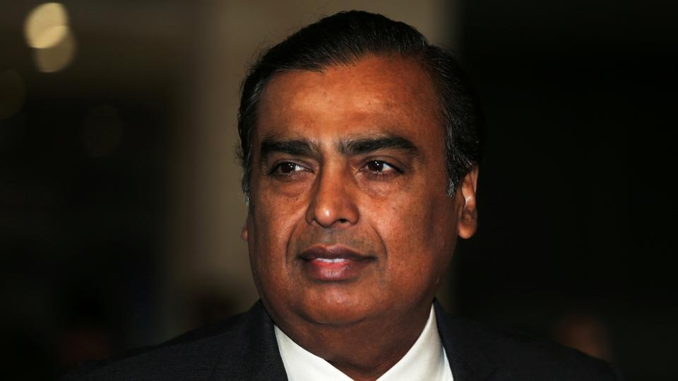 Mukesh Ambani outlines his plan to take on Amazon in India.