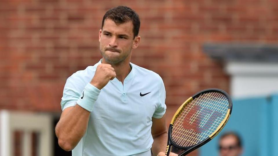 File image of Tennis player Grigor Dmitrov