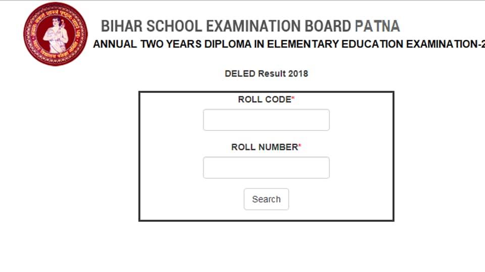 Bihar Board declares D El Ed results at biharboard.online