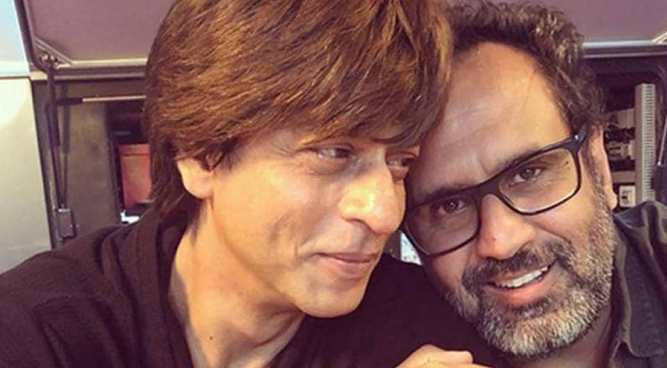 Shah Rukh Khan with Zero director Aanand L Rai.