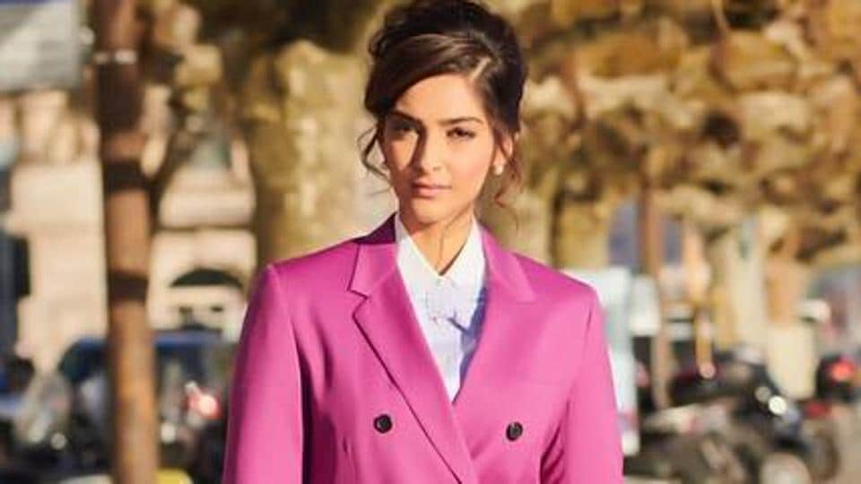 Sonam Kapoor during her recent appearance at the IWC Schaffhausen at SIHH 2019 in Switzerland.