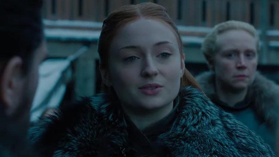 Sophie Turner of Game of Thrones has revealed that she has already told her friends about the show's ending.