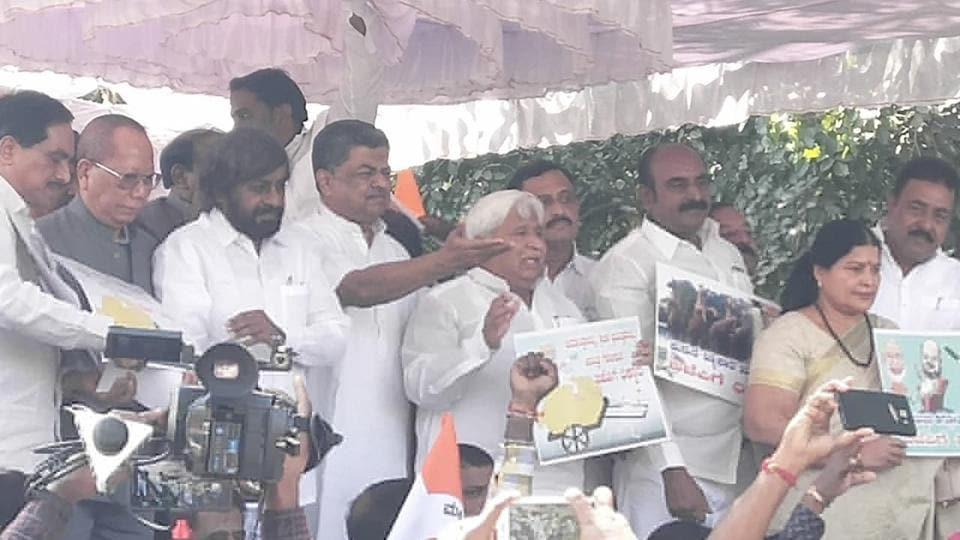 Congress,Karantaka Congress,Bharatiya Janata Party