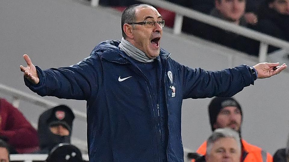 File image of Maurizio Sarri.