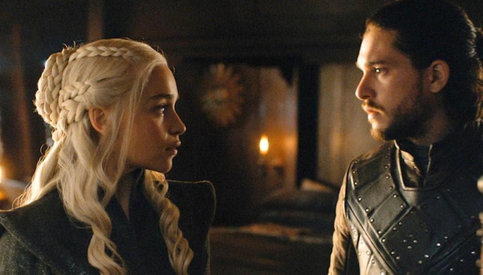 Daenerys and Jon fell in love in Game of Thrones' season 7.