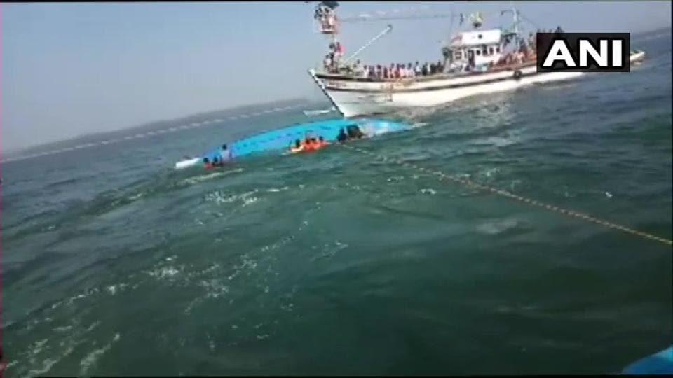 The Indian Navy has also been roped in to assist in the search operation off Karwar bridge in Kali River.