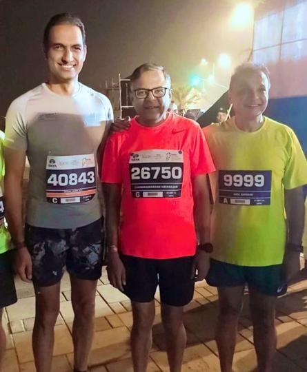 Malavika Sangghvi,India Inc,Mumbai marathon