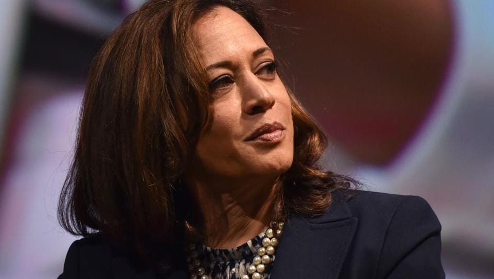 Kamala Harris entered the Democratic presidential race on Monday.