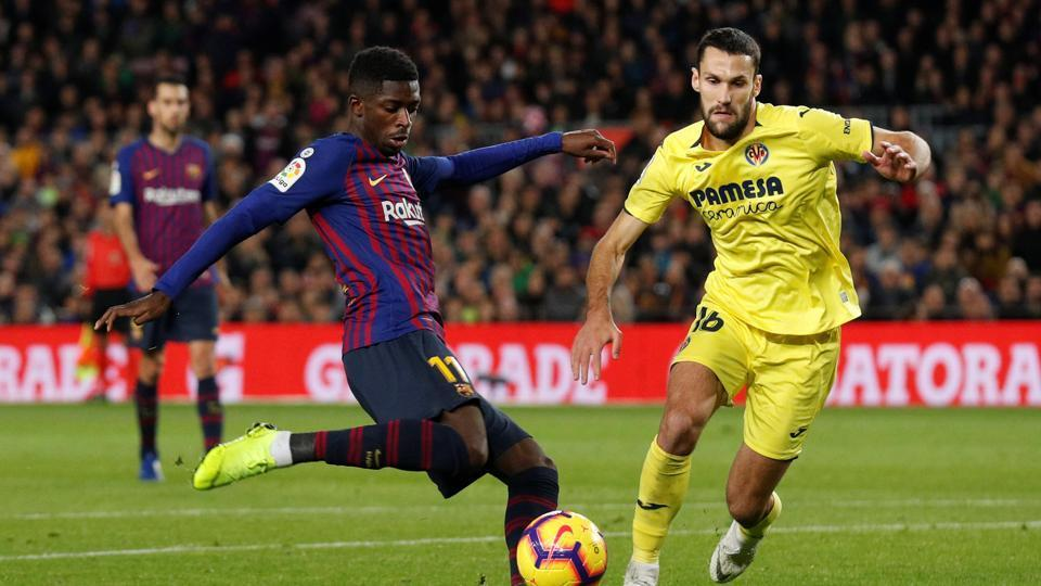 Barcelona's Ousmane Dembele sidelined for two weeks with injury | football