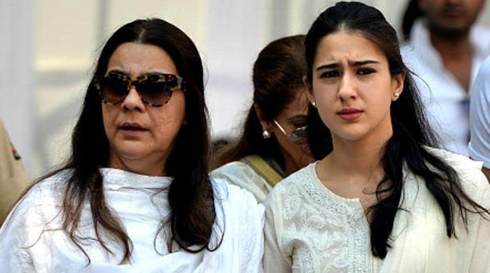 Image result for sara ali khan amrita singh