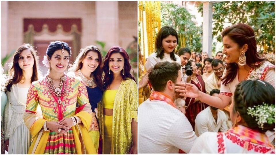 In latest pics from Priyanka Chopra's wedding, Parineeti's bond with Nick Jonas is unmistakable