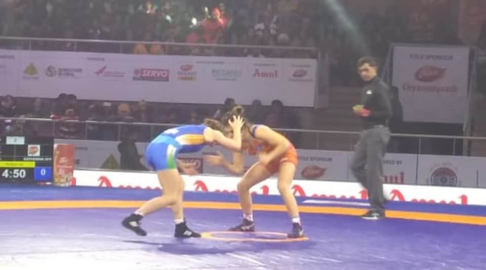 Pro Wrestling League: Aleksander powers Haryana Hammers to third straight win