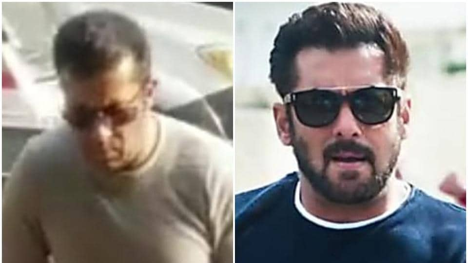 Salman Khan (R) and his doppelganger on the left.