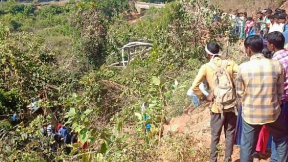 12 killed as truck falls off hill road into a gorge in Odisha, 25 injured