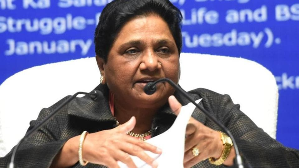 Mayawati's demand has come amid strong rebuttal by the election commission of the EVM hacking claim by US-based cyber expert Syed Shuja.