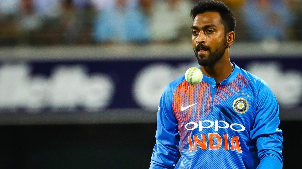 Krunal Pandya writes blank cheque for Jacob Martin as he battles for