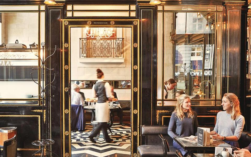 The Wolseley, which is more about concept than backstory, is London's hottest restaurant